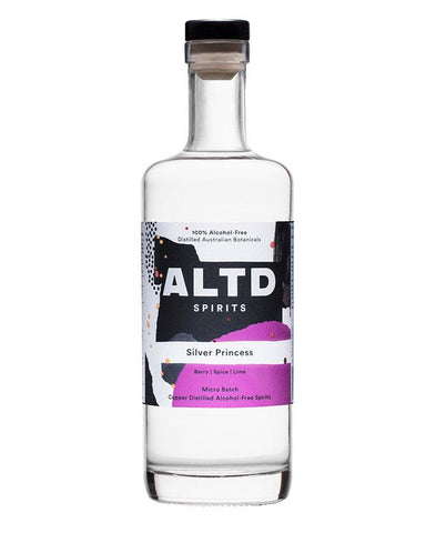700ml bottle of ALTD Spirits Silver Princess