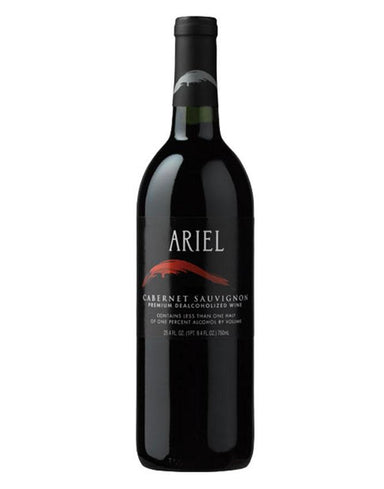 Bottle of Ariel Cabernet Sauvignon de-alcholised wine