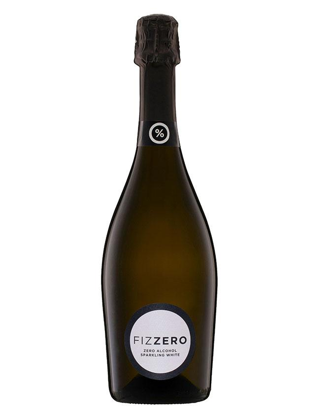 Bottle of Fizzero Zero Alcohol Sparkling grape juice