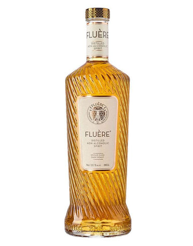 Single bottle of Fluere Non-Alcoholic  Spiced Cane Spirit