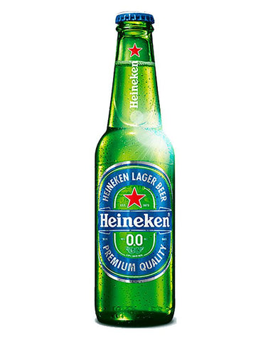 Bottle of Heineken Zero