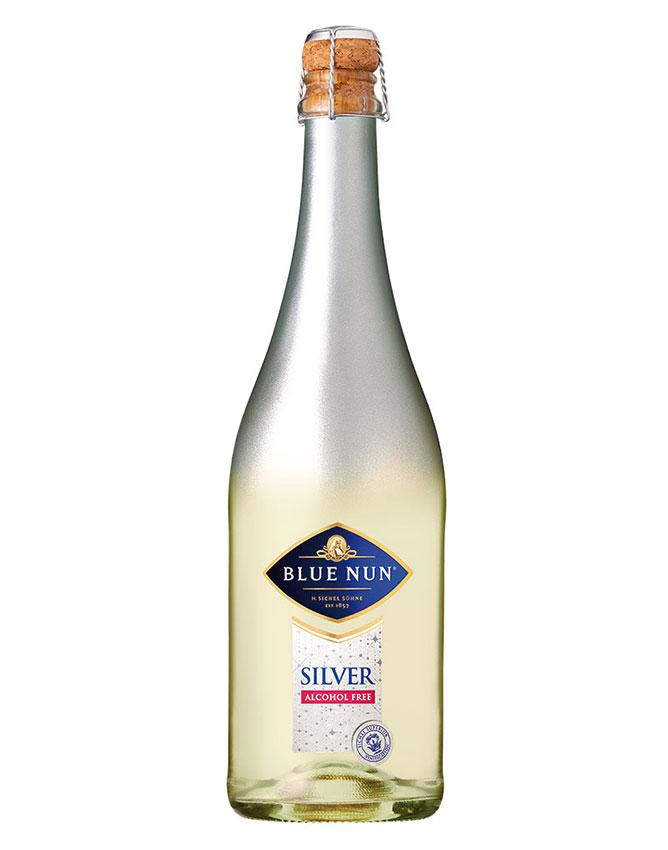 Sparkling Alcohol-Free White in bottle from Blue Nun wines