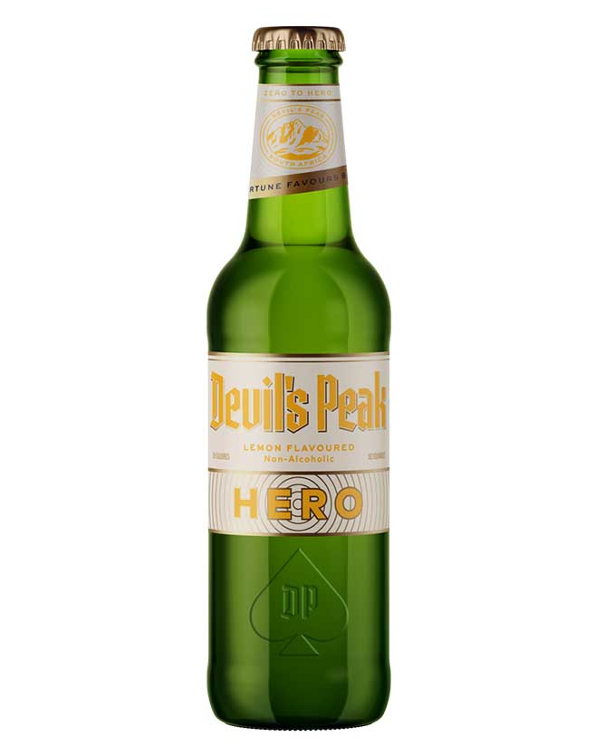 Devil's Peak Hero Lemon 0% Alcohol Beer