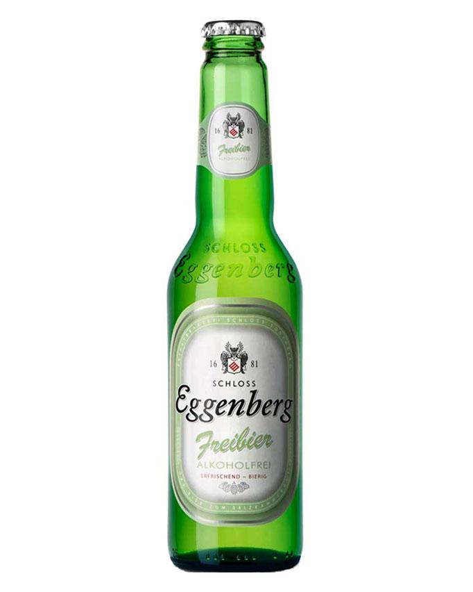 Bottle of Eggenberg Alkohol Frei beer from Germany