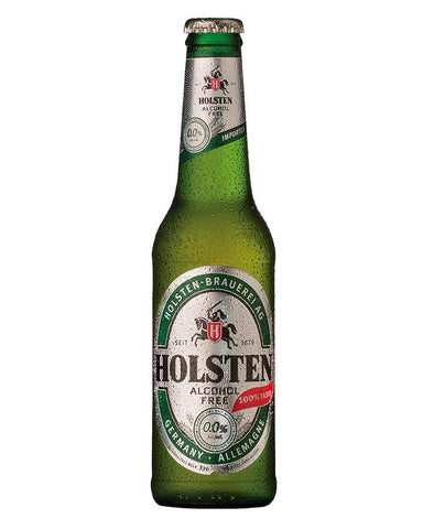 Bottle of Holsten Alcohol-Free beer