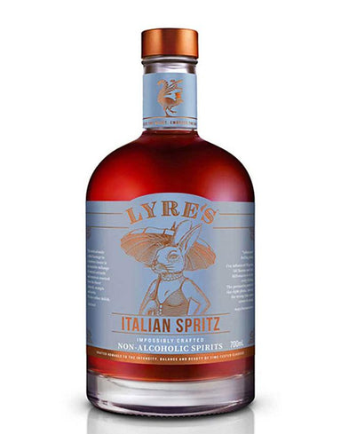 Bottle of Lyre's alcohol-free replacement for Aperol