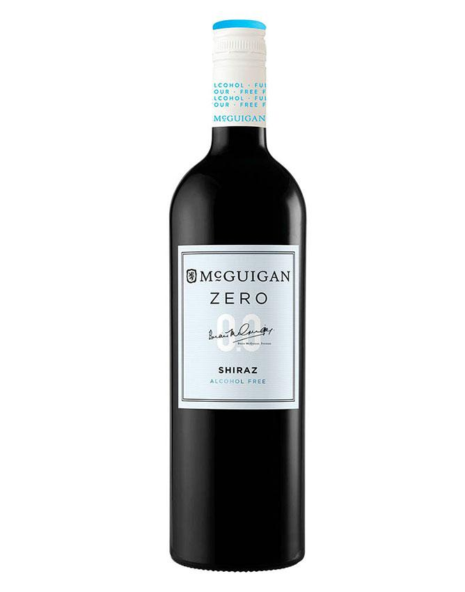 Bottle of Mcguigan Wines Alcohol-Free Red Wine
