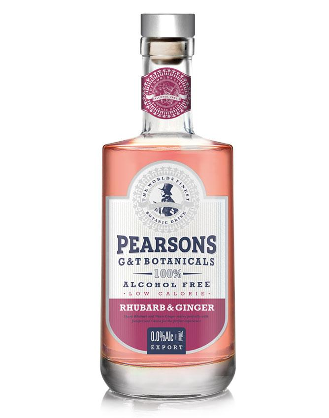 Pearsons Rhubarb & Ginger G&T