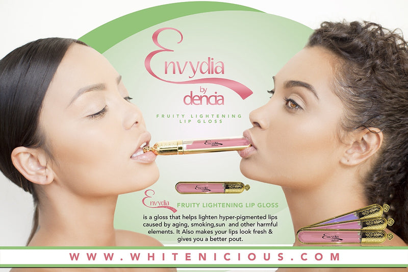 Envydia Fruity lightening lip gloss & Scrub