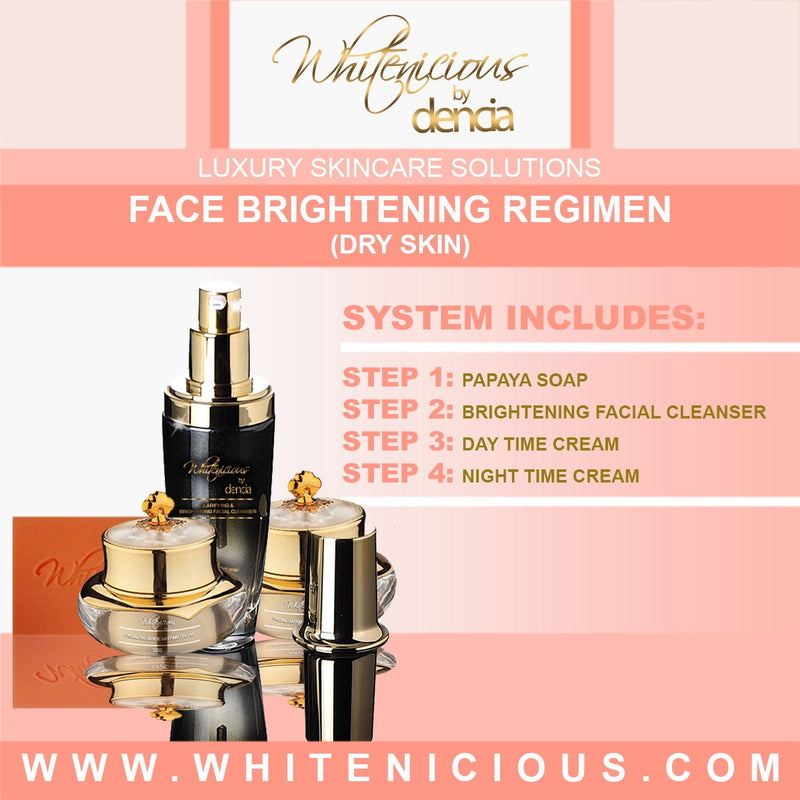 Face Brightening Regimen For Dry Skin Set