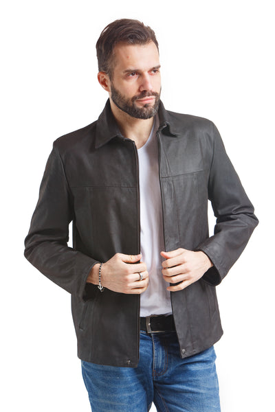 Men's Brady Jacket - Leather Renaissance