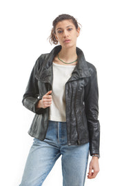 Women's Naomi Jacket - Leather Renaissance