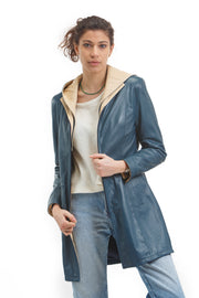 Women's Susanna Coat - Leather Renaissance