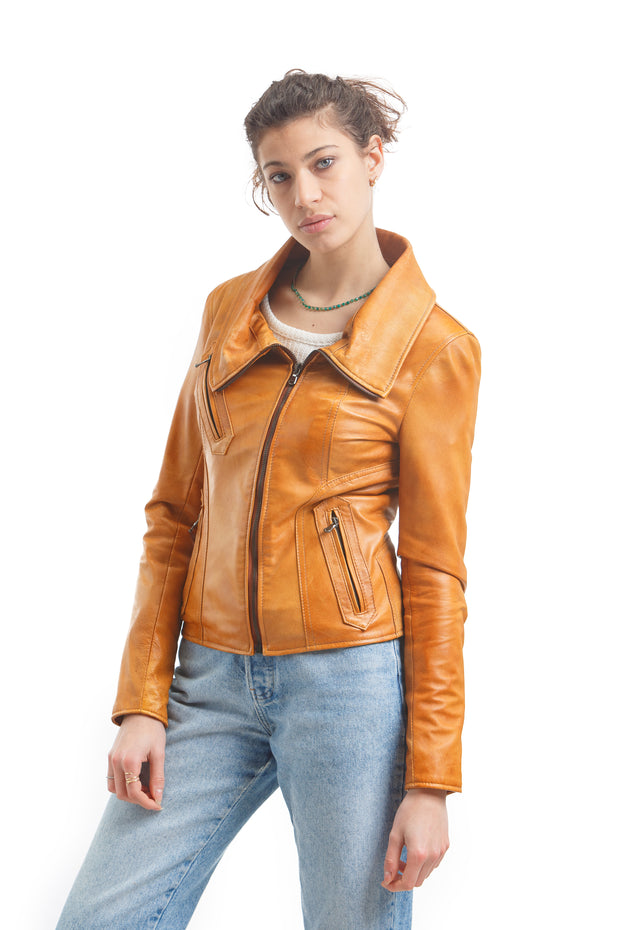 Women's Bella Jacket - Leather Renaissance