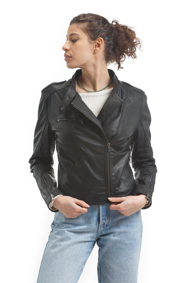 Women's Nina Jacket - Leather Renaissance