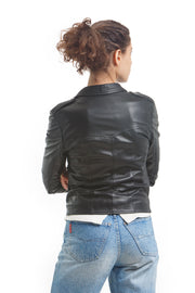 Women's Brooklyn Jacket - Leather Renaissance