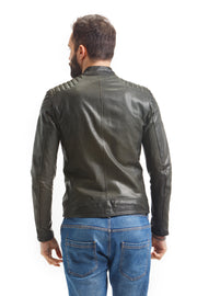 Men's Pelle Moto Jacket - Leather Renaissance