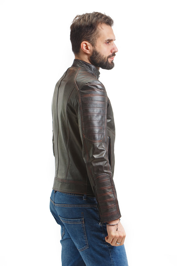 Men's Devinson Jacket - Leather Renaissance