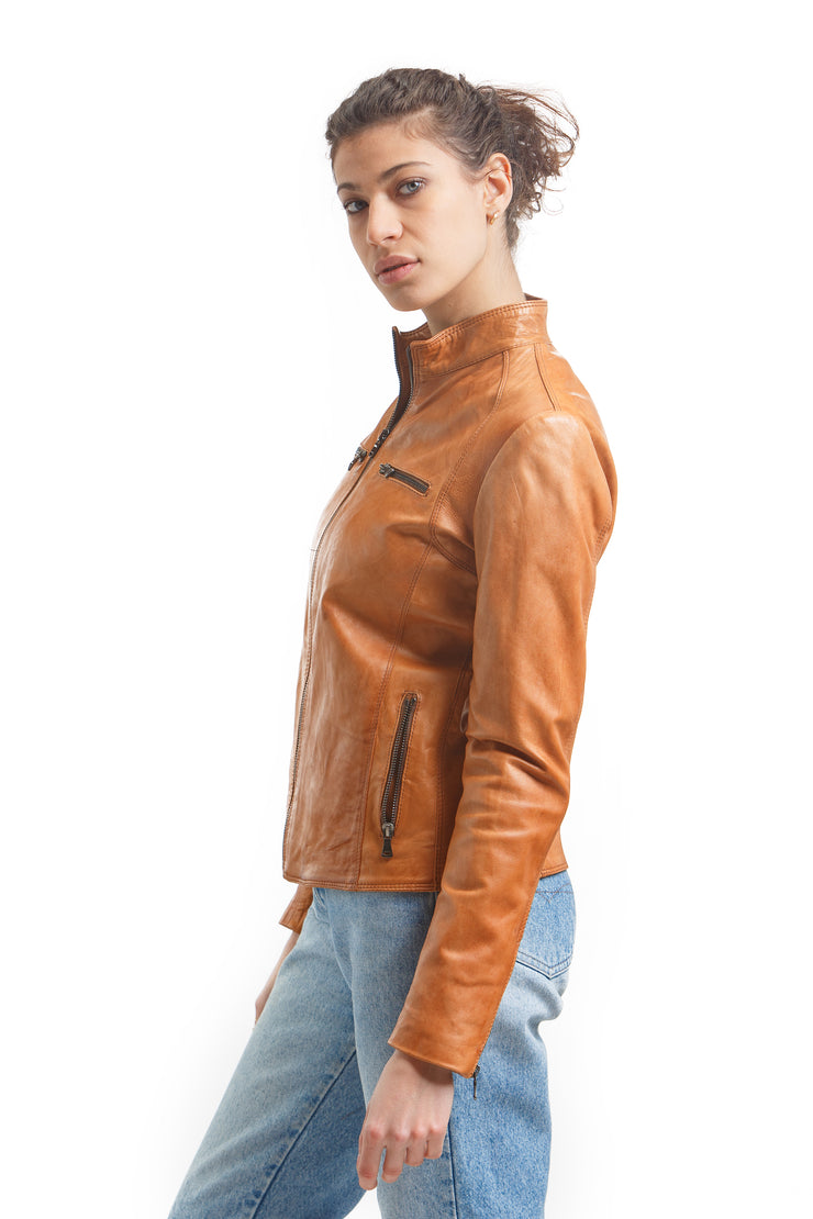 Women's Ela Jacket - Leather Renaissance