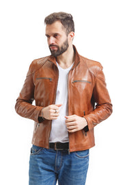 Men's Broad Street Jacket - Leather Renaissance