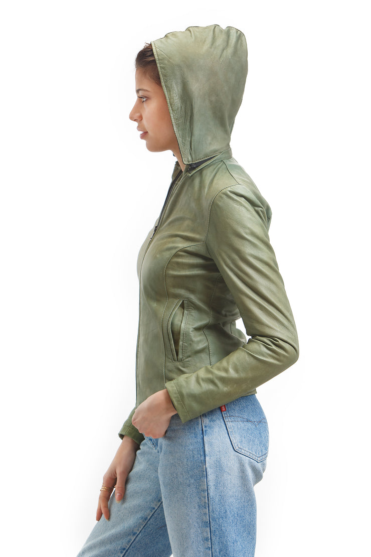 Women's Tuscan Beauty Jacket - Leather Renaissance