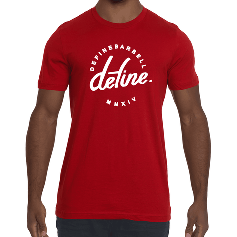 DEFINE CLASSIC WORKOUT TEE - RED