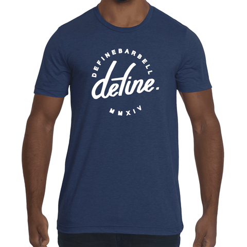 DEFINE CLASSIC WORKOUT TEE - NAVY