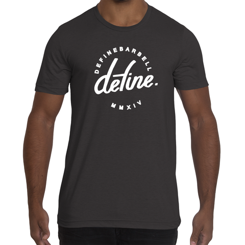 DEFINE CLASSIC WORKOUT TEE - BLACK