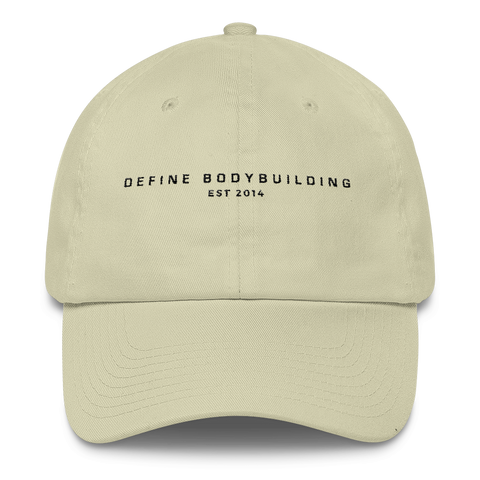 DEFINE BODYBUILDING EST 2014 - UNISEX HAT LIGHT