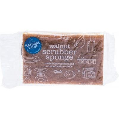 Only-One-Earth-sustainability-products-walnut-scouring-sponge