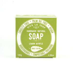 Viva La Body - DAILY DETOX Lemon Myrtle Soap