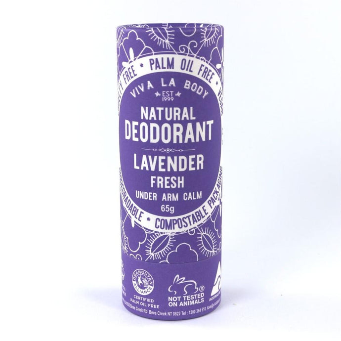 Viva La Body - Natural Deodorant Lavender Fresh