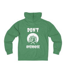 Load image into Gallery viewer, Unisex Don't OverdoseTerry Zip Hoodie