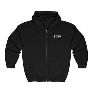 OG STAFF Full Zip Hooded Sweatshirt