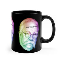 Load image into Gallery viewer, Don't Diabetes Black mug 11oz