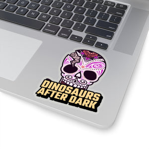 After Dark Skull Sticker