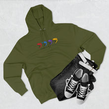 Load image into Gallery viewer, Premium Quad Dino Pullover Hoodie