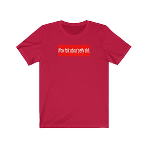 Red Top Short Sleeve Tee