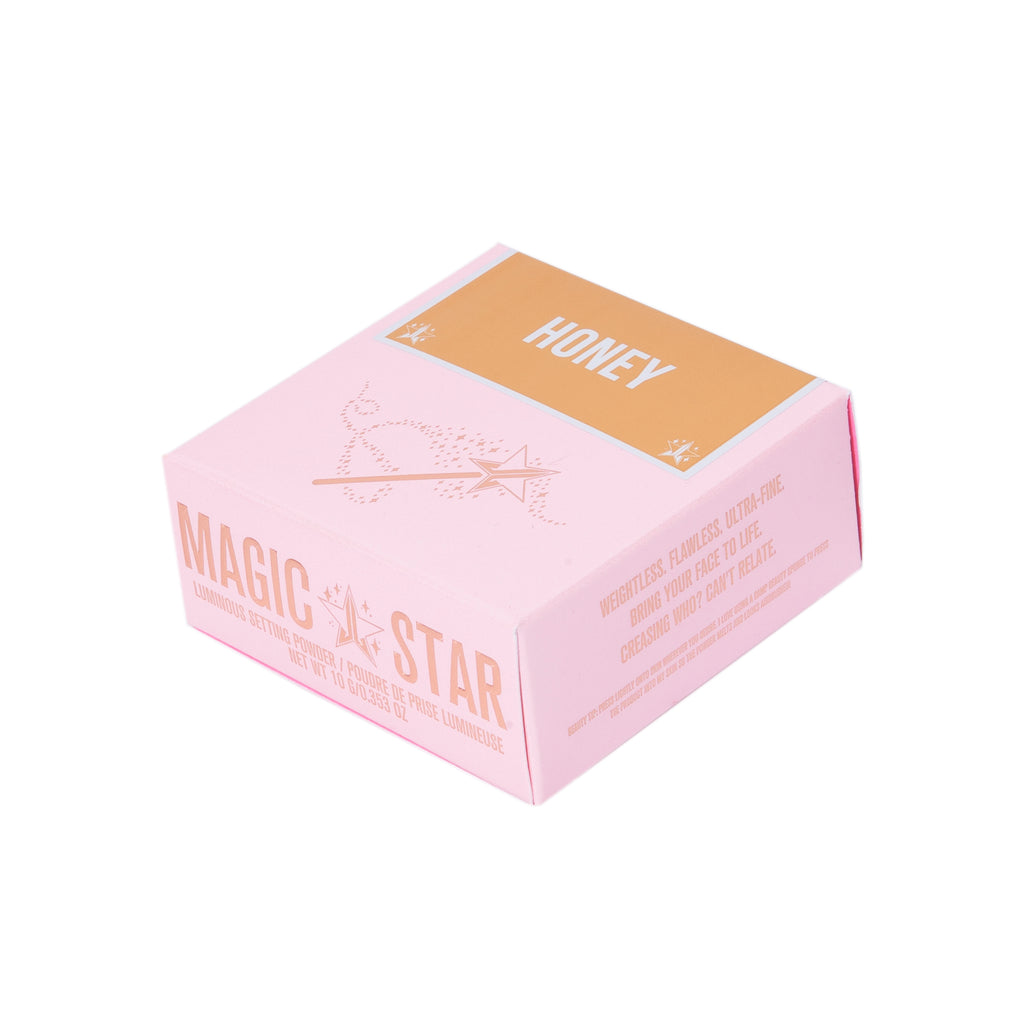 Jeffree Star Cosmetics Magic Star Luminous Setting Pudder - Honey 10g