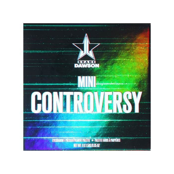 Jeffree Star Cosmetics Eyeshadow Palette -  Mini Controversy Emerald Edition