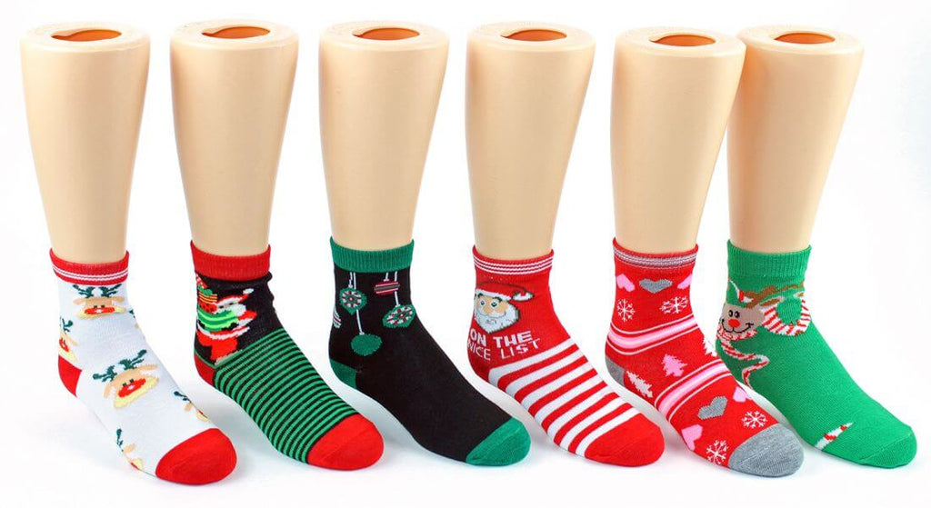 Children's Christmas Ankle Socks