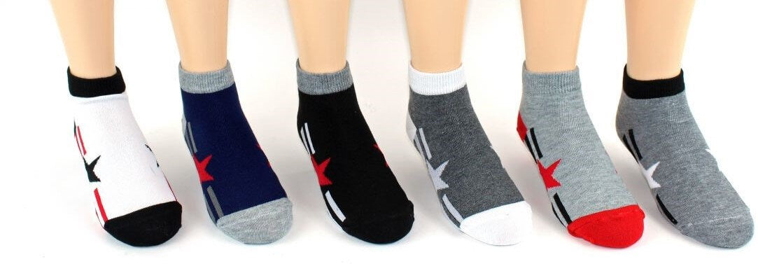 Children's Stars Low Cut Socks