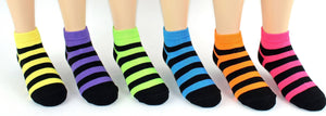 Children's Striped Low Cut Socks