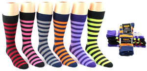 Men's Stitch Stripe Crew Socks