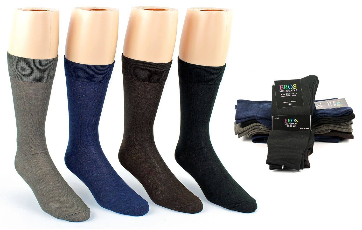 Men's Subscription - 2 Pairs - Crew Socks - 12 months