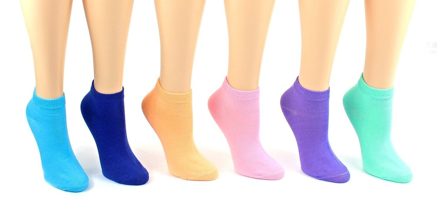 Women's Pastel Low Cut Socks