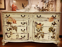 Load image into Gallery viewer, Shabby Chic Floral Dresser