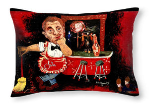 Barkeep - Throw Pillow
