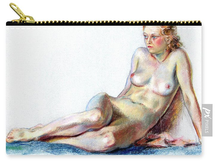 Blue Velvet - Carry-All Pouch
