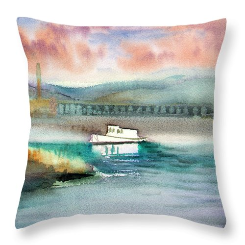 Calm Waters - Throw Pillow